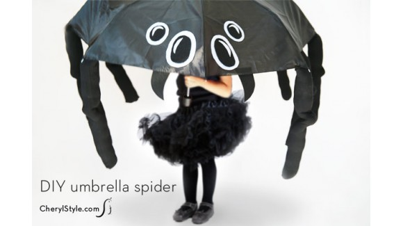 Under my scary umbrella