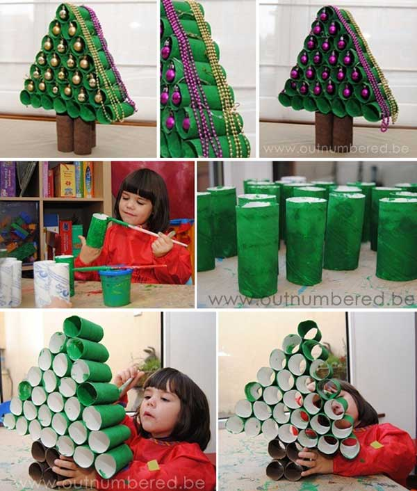 Top 10 Best Cheap Christmas Decorations 2017: 10 Manualidades Con Rollos De Papel Higiénico Para Niños